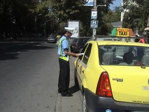 Acţiuni de verificare a legalităţii activităţilor de taximetrie
