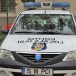 Agresor reţinut de către poliţistii locali