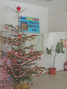 Poliţiştii locali acţionează pentru asigurarea unui Crăciun liniştit