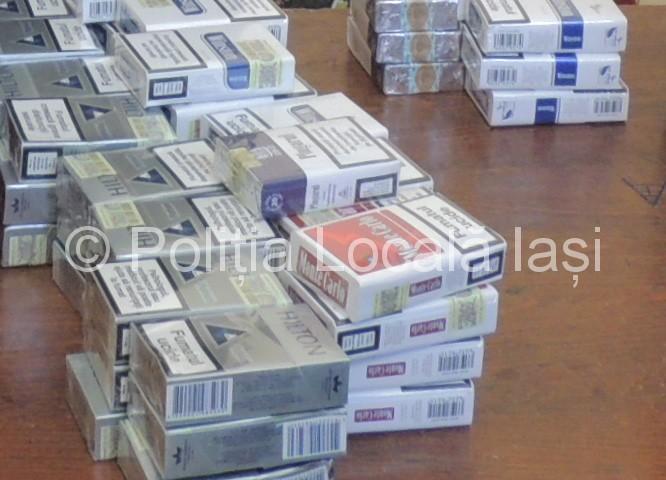 2.000 de țigarete ridicate în vederea confiscării